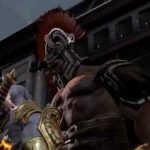 Kratos faccia a faccia con Ercole in God of War 3