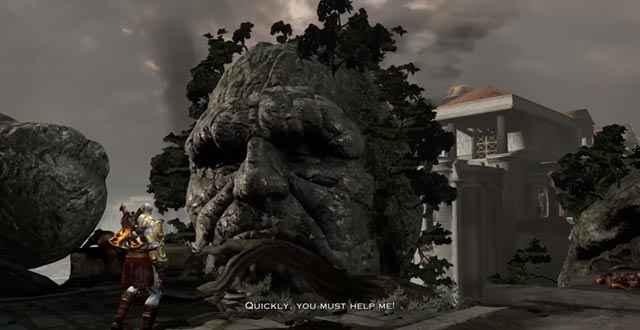 Gaia chiede aiuto a Kratos, dopo averlo tradito