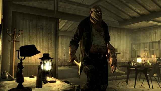 Gli abitanti delle paludi nel Point Lookout di Fallout 3
