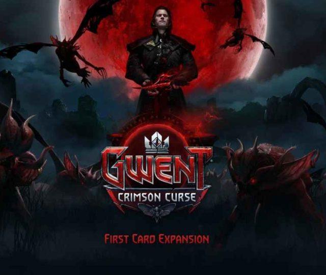 Prima immagine promozionale di Crimson Curse, prima espansione per Gwent