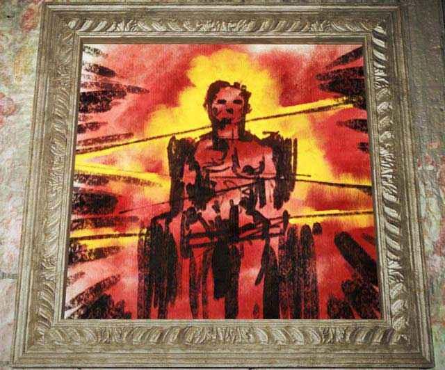 Uno degli inquietanti quadri di Pickman in Fallout 4