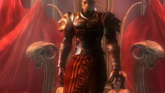 Il trono di Kratos in God of War 2