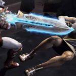Kratos abbatte Zeus in God of War 2