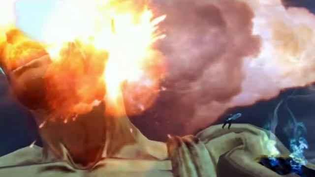 Kratos abbatte il Colosso di Rodi