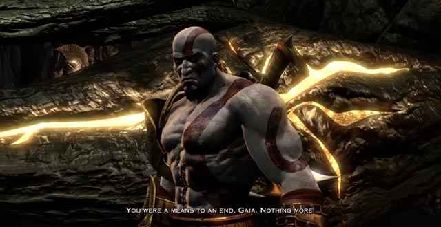 Kratos si rifiuta di aiutare Gaia in God of War 3