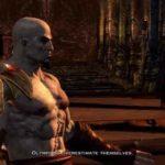 Kratos contro gli dèi dell'Olimpo
