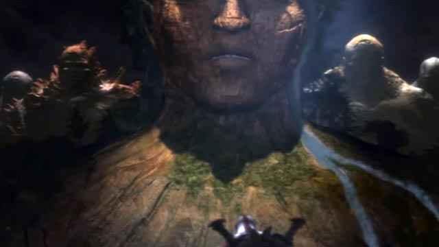 Kratos e i titani di God of War 2