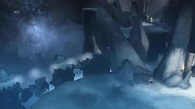Kratos incontra il Titano Tifone