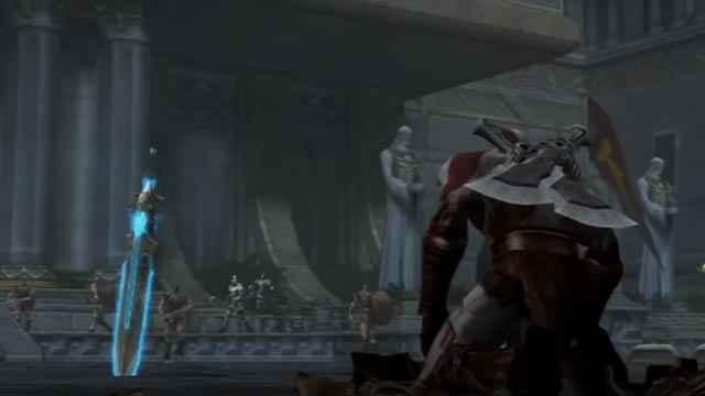 Kratos perde i poteri e torna mortale in God of War 2