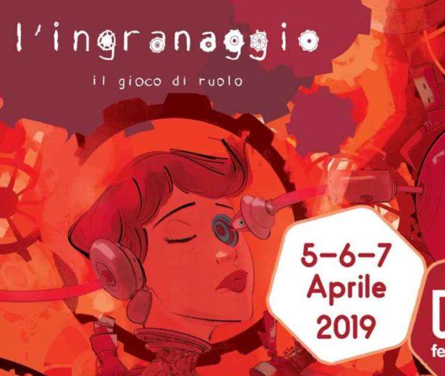 L'Ingranaggio - il gioco di ruolo - Play Modena 2019