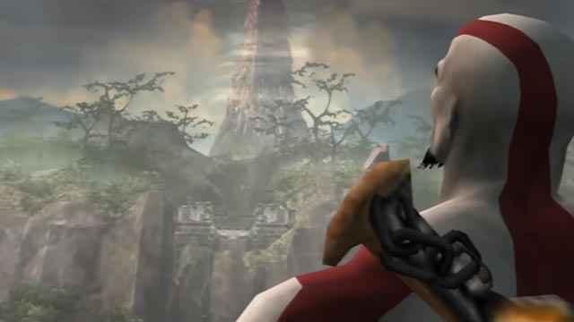 L'Isola della Creazione in God of War 2