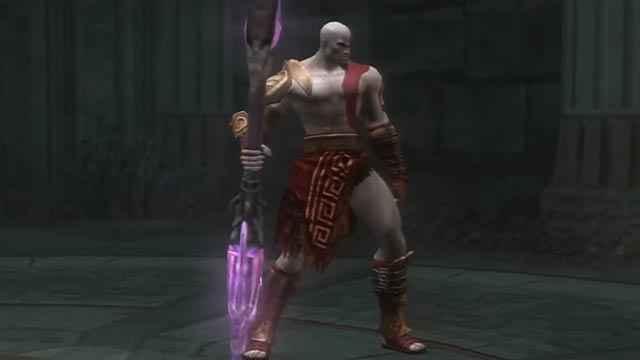 La Lancia del Destino in God of War 2