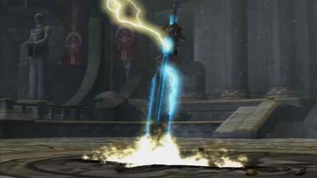 La Spada dell'Olimpo di God of War 2