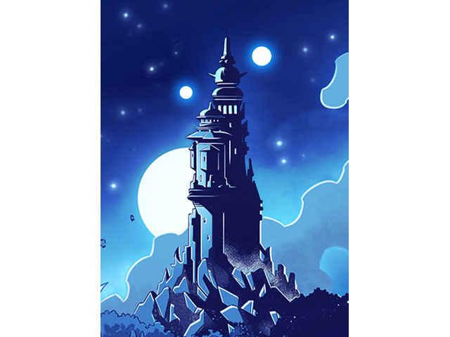 La Torre di Droniel, in cui si svolge l'avventura di questo supplemento