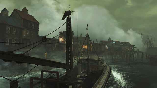 L'omonima città costiera di Far Harbor in Fallout 4