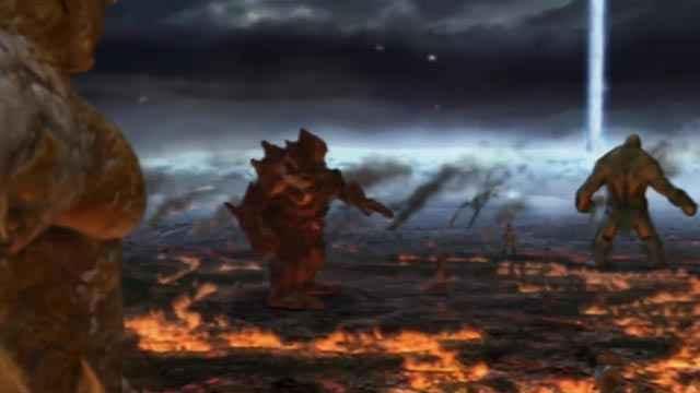 La prima Titanomachia in God of War 2