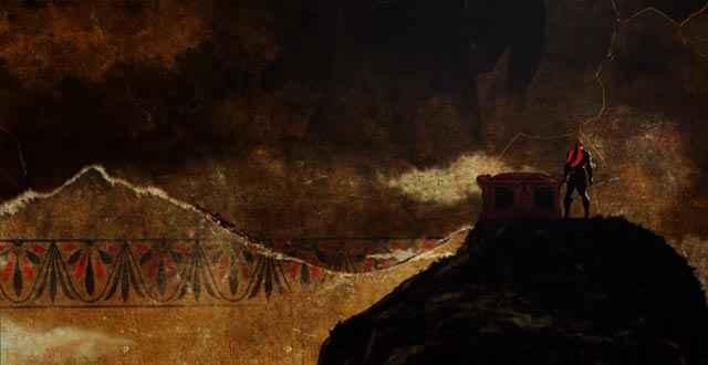 L'arte greca rappresentata nell'introduzione di God of War 3