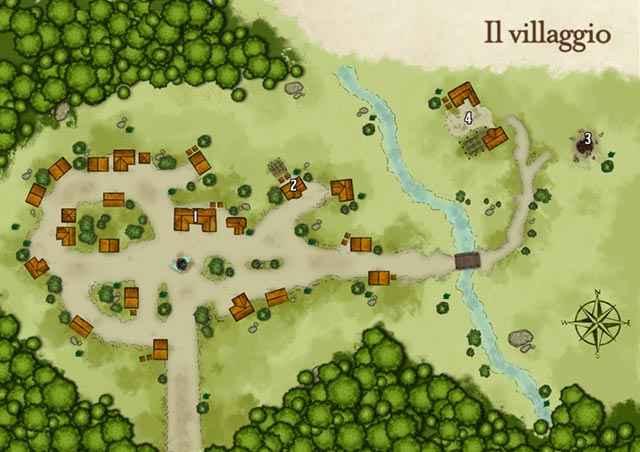 Gli appunti e le mappe nell'appendice di La meravigliosa Torre di Droniel