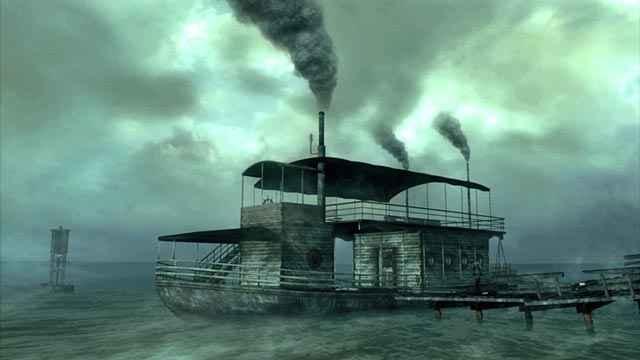 L'imbarcazione del DLC Point Lookout di Fallout 3