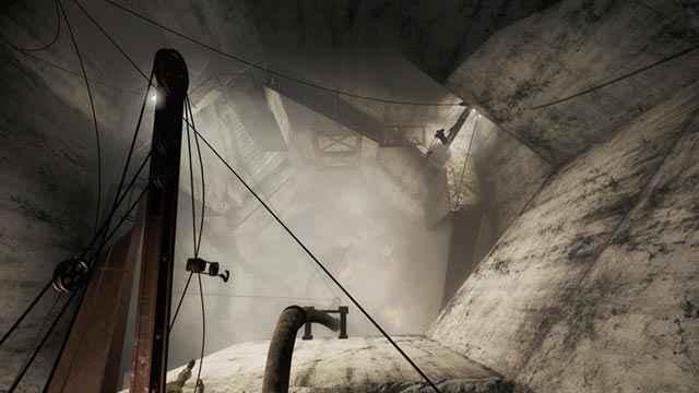Il pozzo principale dello scavo di Dunwich Borers