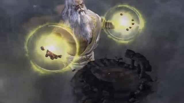 Lo scontro fra Kratos e Zeus