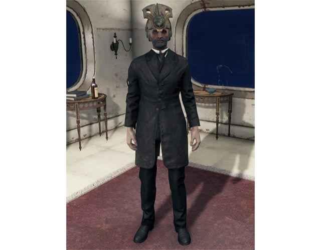Lorenzo Cabot e la sua Corona, come appaiono in Fallout 4