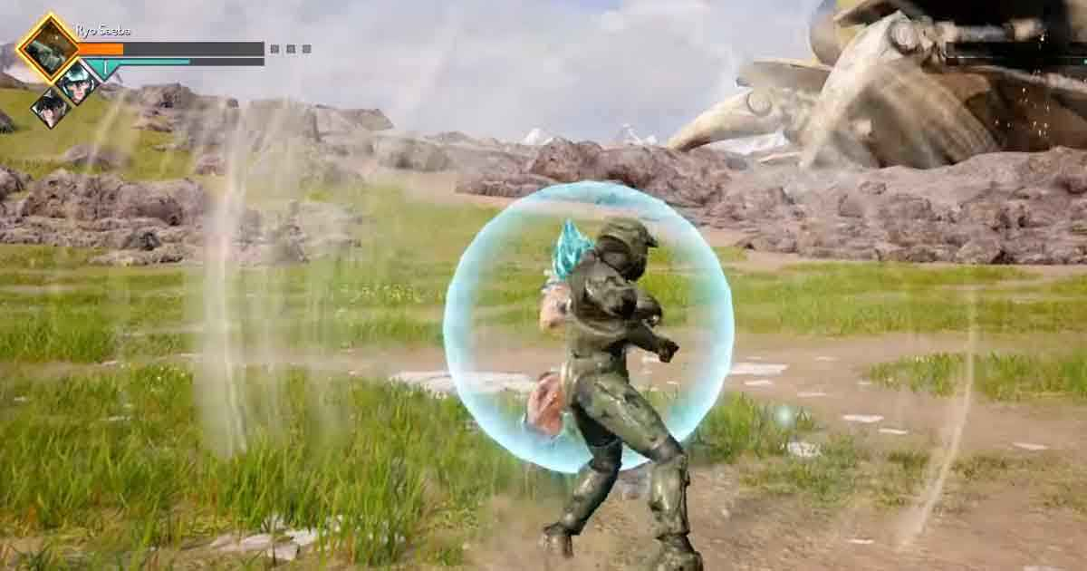 Master-Chief-in-Jump-Force-con-una-mod