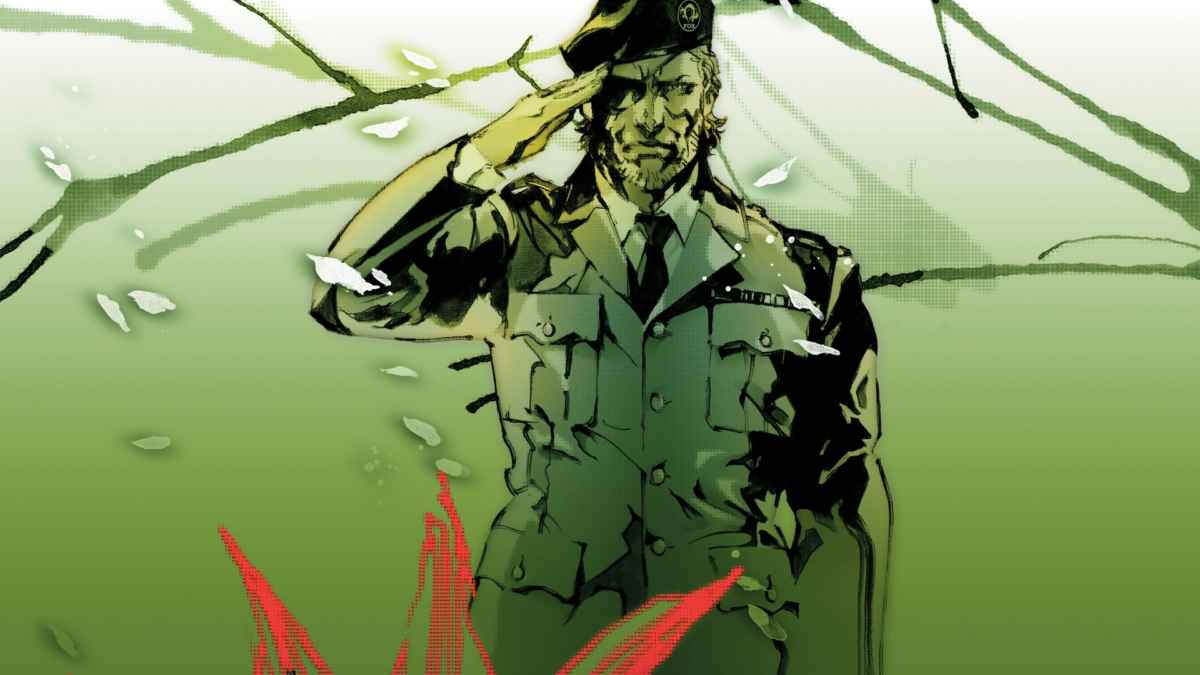 Artwork della cover di Metal Gear Solid 3