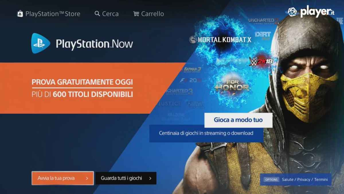 Come Iscriversi al PlayStation Now