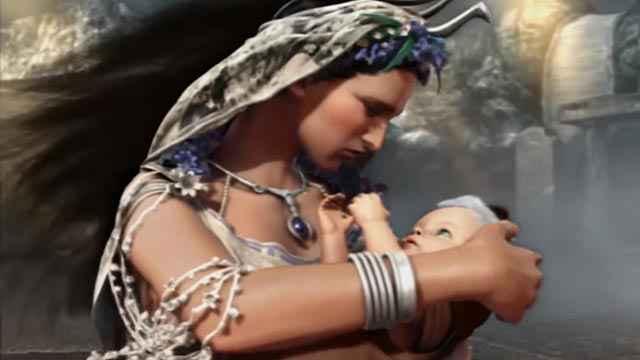 Rea salva Zeus in God of War 2