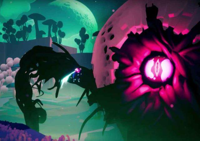 Screenshot dal trailer d'annuncio di Solar Ash Kingdom, il nuovo gioco dai creatori di Hyper Light Drifter