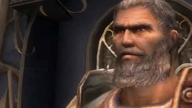 Teseo come appare in God of War 2