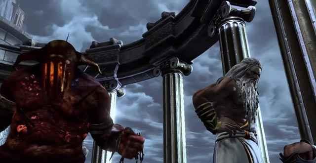 Ade si prepara a saltare giù dall'Olimpo per affrontare nuovamente i Titani