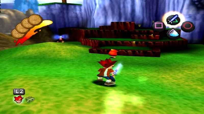 ape escape, divertente gioco del 1999