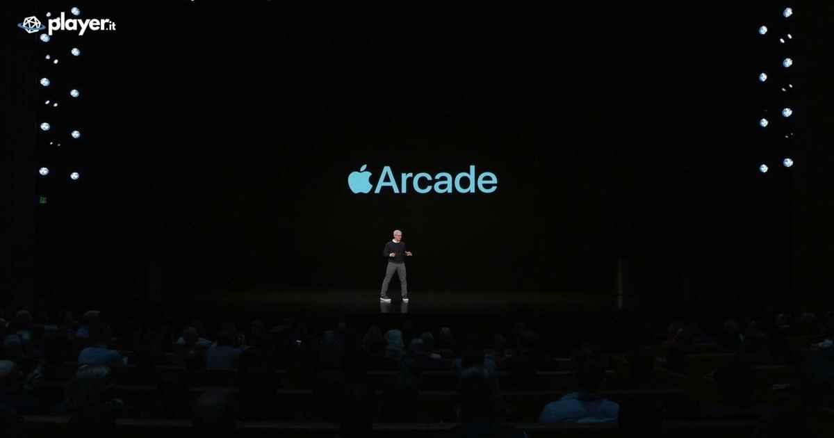 Apple Arcade presentazione