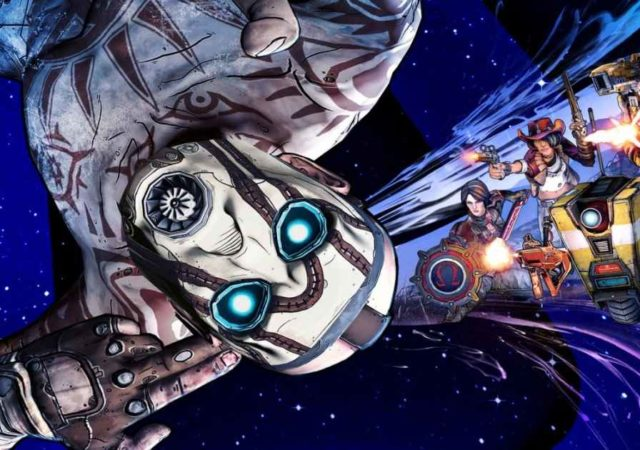 Artwork della copertina di Borderlands: The Pre-Sequel