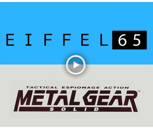 eiffel 65 metal gear solid blue