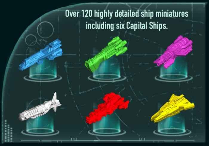 tutte le navi spaziali di exodus chronicles