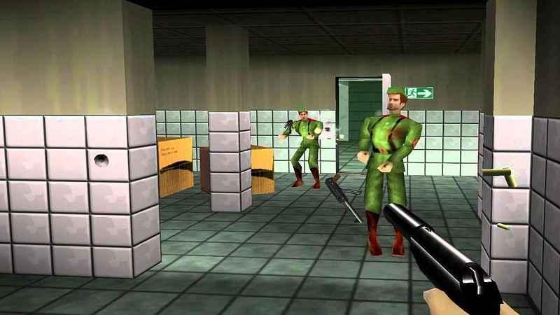 Goldeneye 007, uscito nel 1997 su Nintendo 64