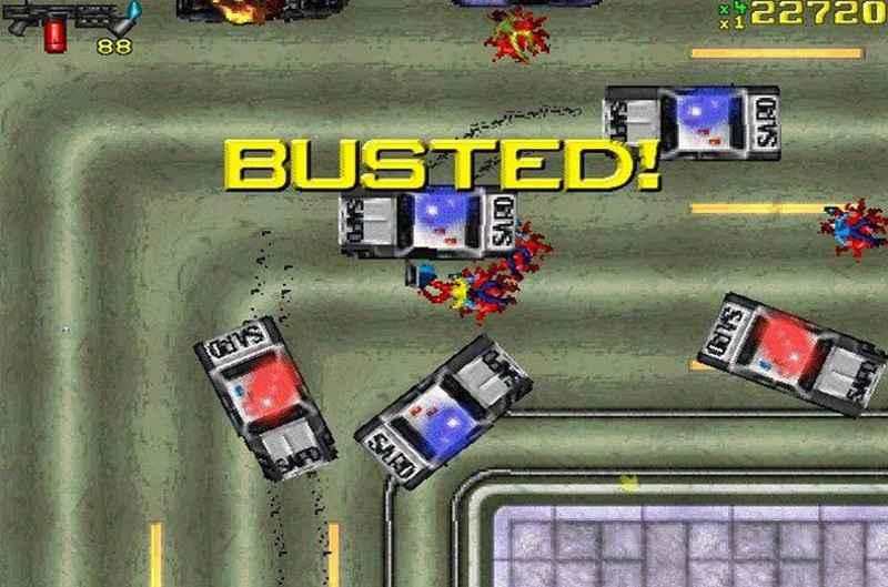 il primo grand theft auto, uscito nel 1997