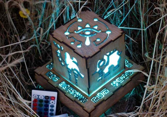 The Legend of Zelda Breath of The wild ecco le lampade decorative
