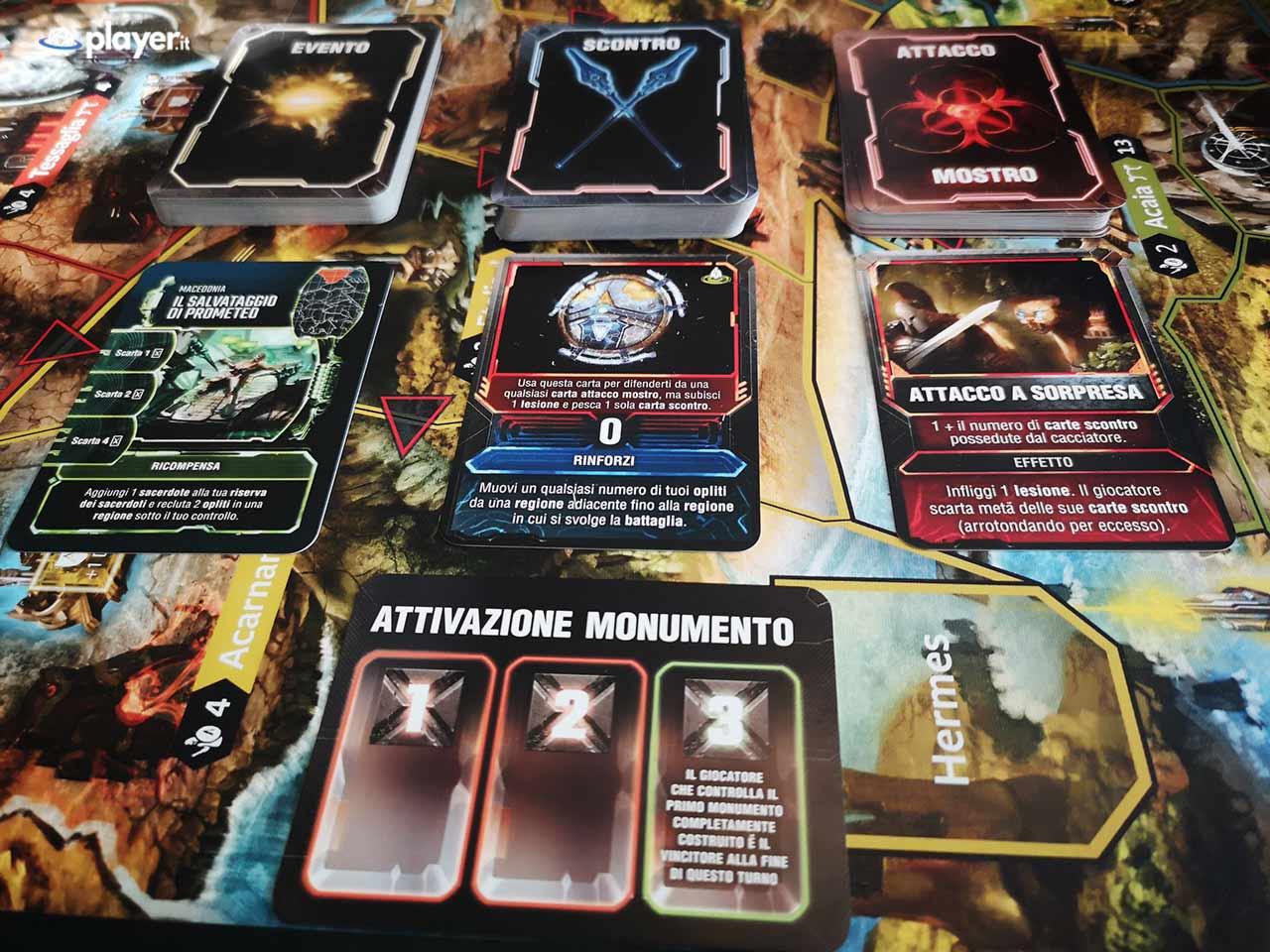 lord of hellas gioco da tavolo panoramica delle attivazioni