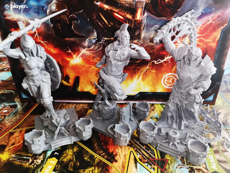 lord of hellas gioco da tavolo miniature grandi