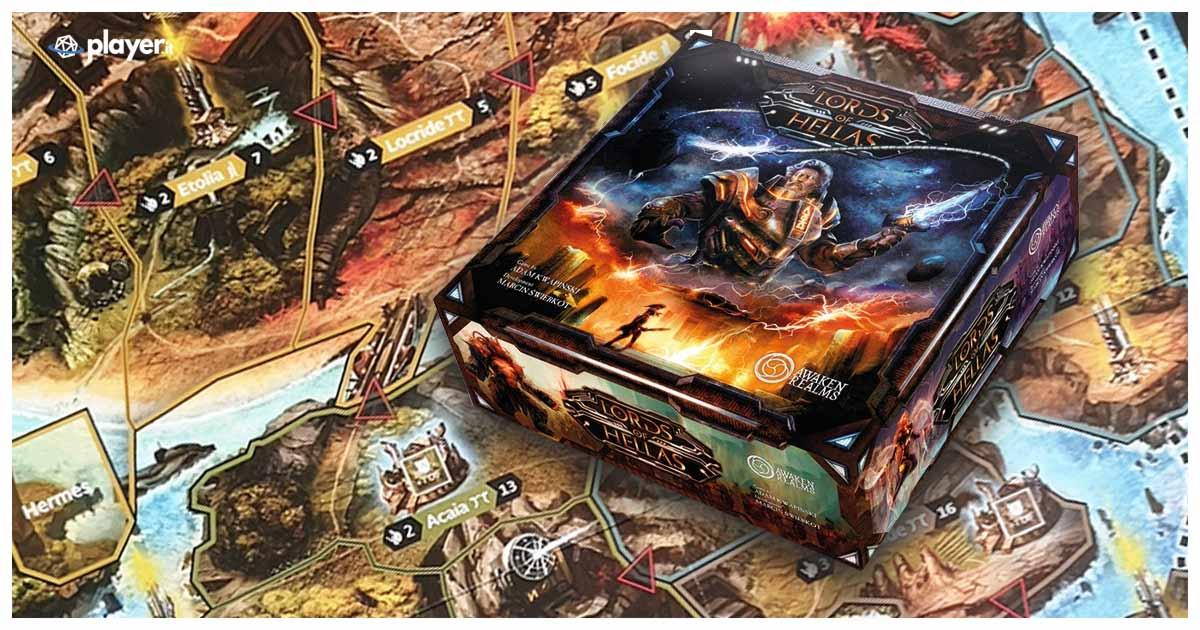 lord of hellas - recensione e guida del boardgame