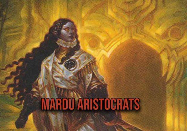 mtg arena mardu aristocrats