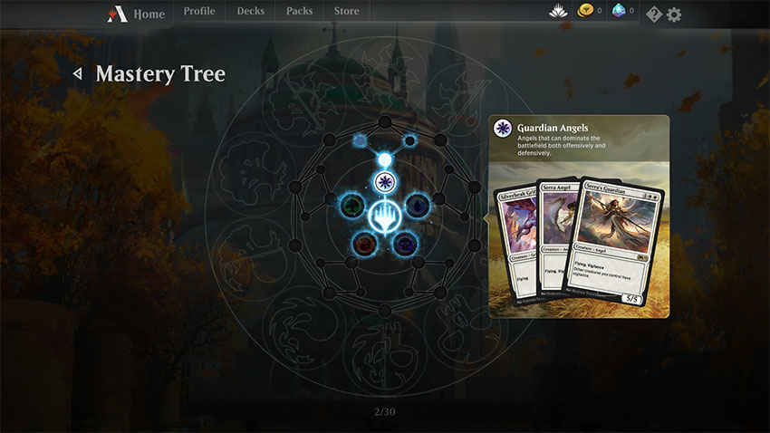 mtg arena mastery tree