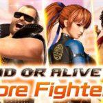 Screenshot dal trailer di Dead or Alive 6 Core Fighters che mostra i primi personaggi gratuiti