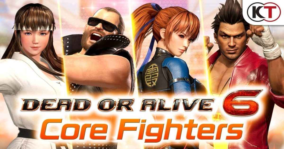 Screenshot dal trailer di Dead or Alive 6 Core Fighters che mostra i primi personaggi gratuiti