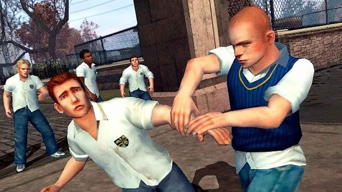 Screenshot dal trailer dell'Anniversay Edition di Bully