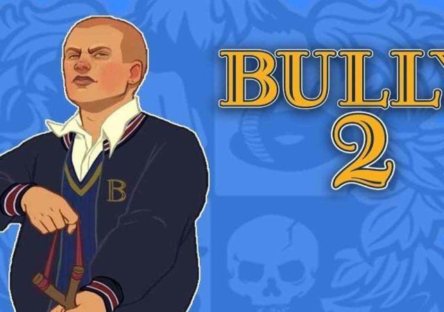 Artwork di Bully 1 con in aggiunta un 2 in post-produzione